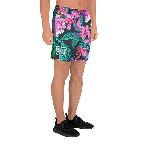 Flower Athletic Shorts
