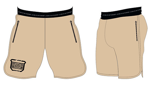 Athletic Shorts Men _Sand/Marzipan