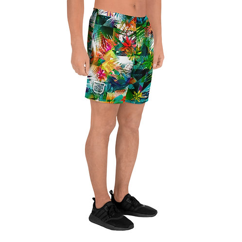 Tropical Athletic Shorts