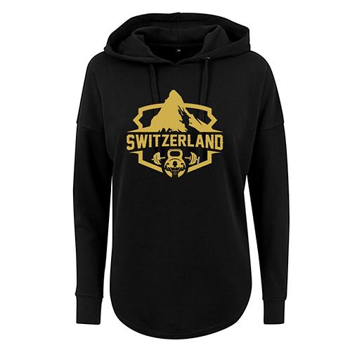 Swiss Mountain Ladies` Oversized Hoody