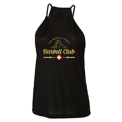 The finest barbell club High Neck Tank