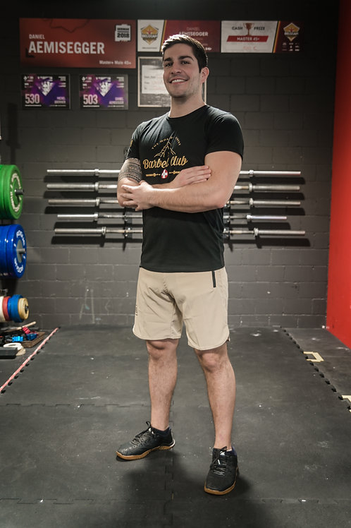Athletic Shorts Men _Sand/Marzipan