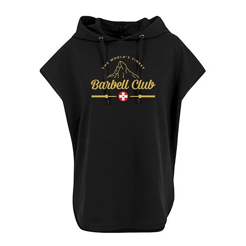 The finest barbell club Ladies` Sleeveless Hoody