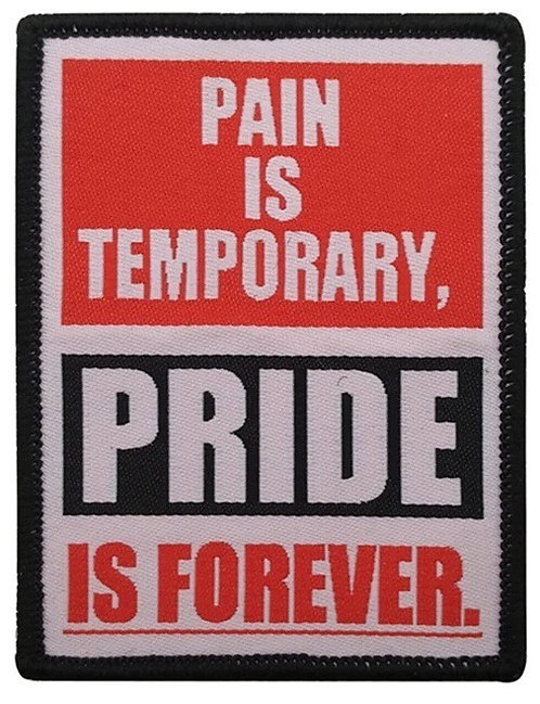 Pride is forever Patch