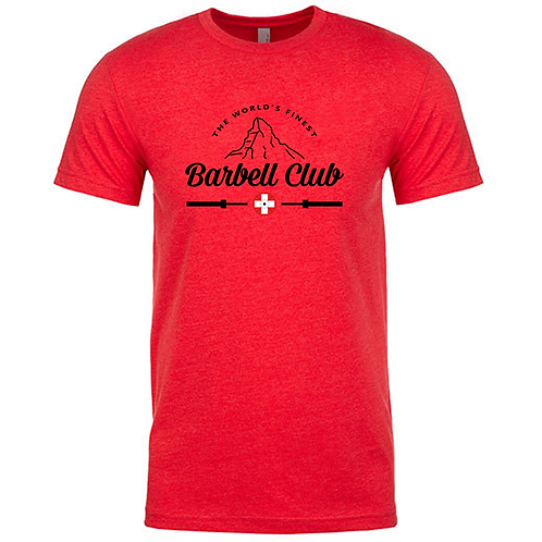 The finest barbell club Shirt_black