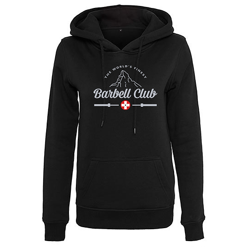 The finest barbell club Ladies` Heavy Hoody_Silver Edtion