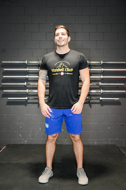 Athletic Shorts Men _True Blue
