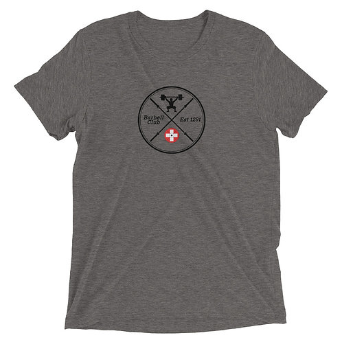 Barbell Club Deluxe Short sleeve Triblend t-shirt