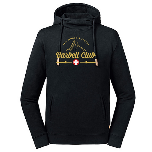 The finest barbell club High Collar Hooded Men