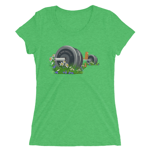 Lost Barbell Summer Lady Shirt (Triblend)