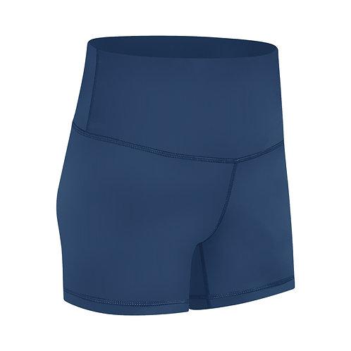 Premium Athletic Shorts_Cowboy blue