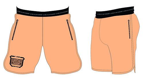 Athletic Shorts Men _Peach Cobbler