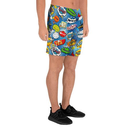 Comic Athletic Shorts