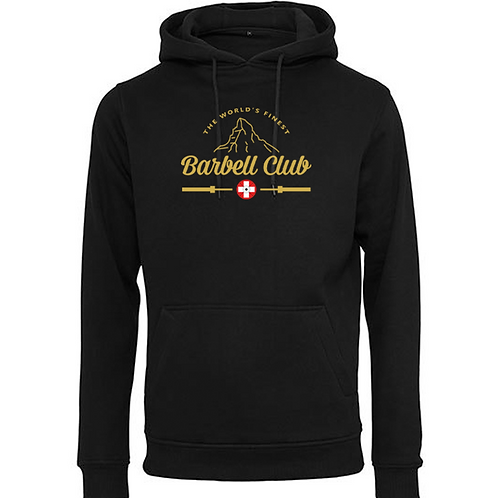 The finest barbell ClubHeavy Hoody_Gold Edition