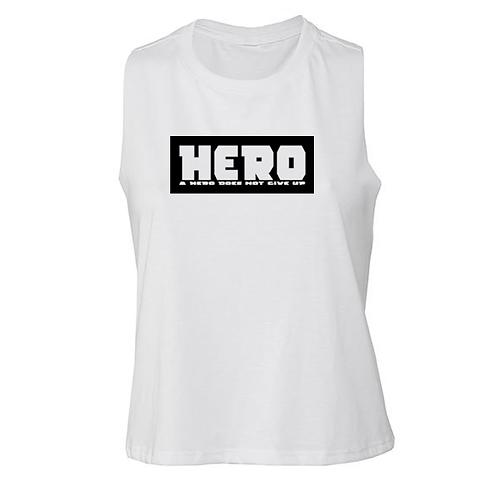 Hero cropped tank
