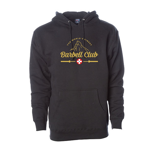 The finest barbell club Heavyweight Hooded