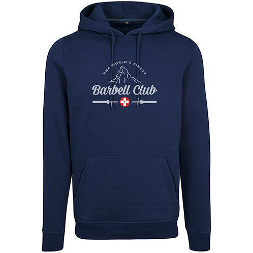 The finest barbell ClubHeavy Hoody_Silver Edition