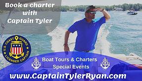 Captain Tyler Ryan lake murray charter boat captain tours lake murray sc