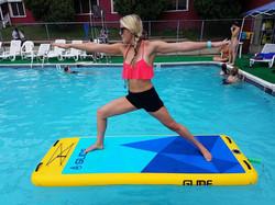 Aquafun Paddle South Carolina paddle board yoga  8