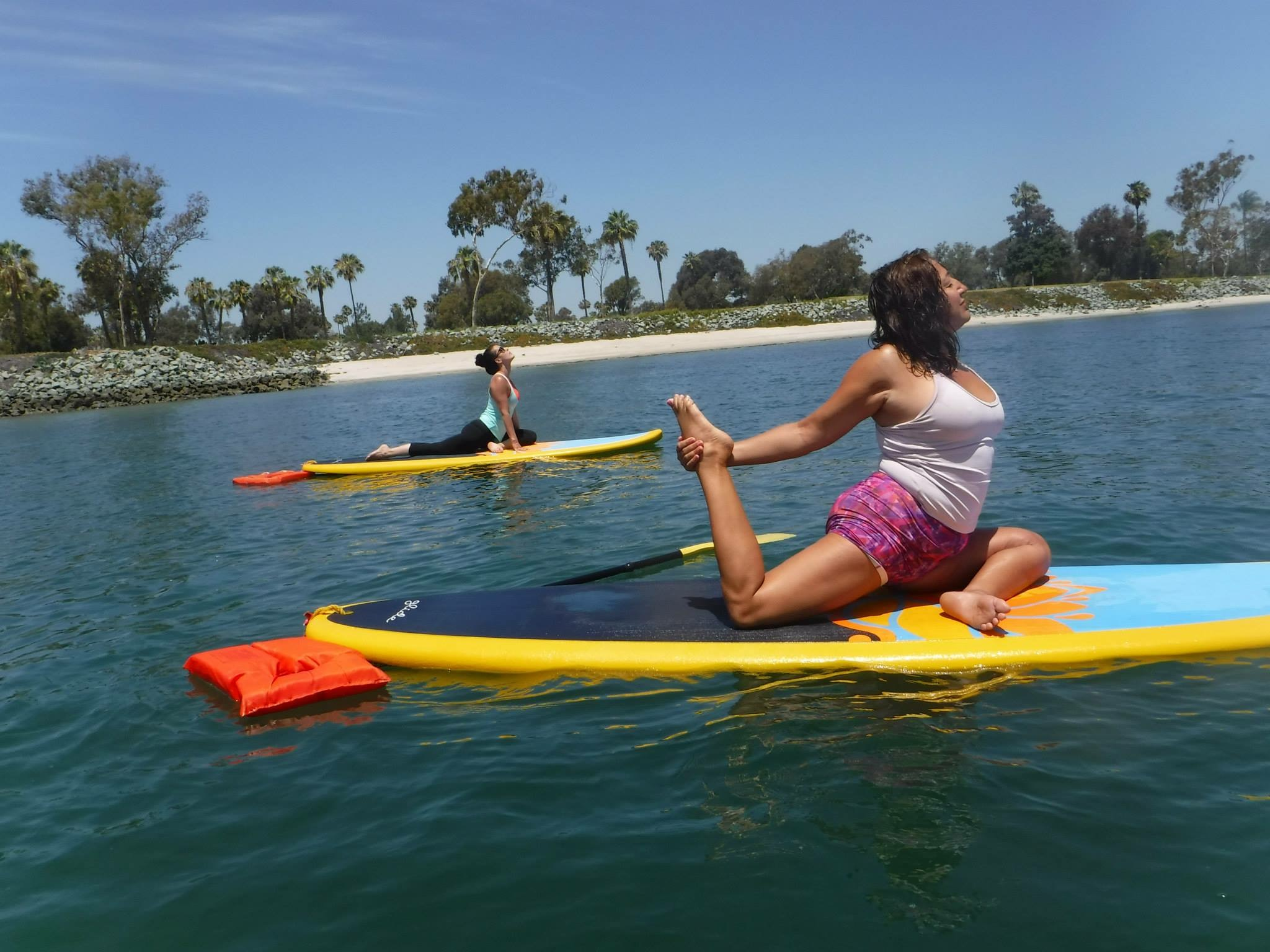 Aquafun Paddle South Carolina paddle board yoga  6