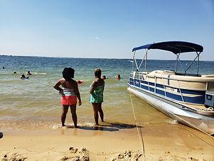 Lake Murray boat tour company beach bum