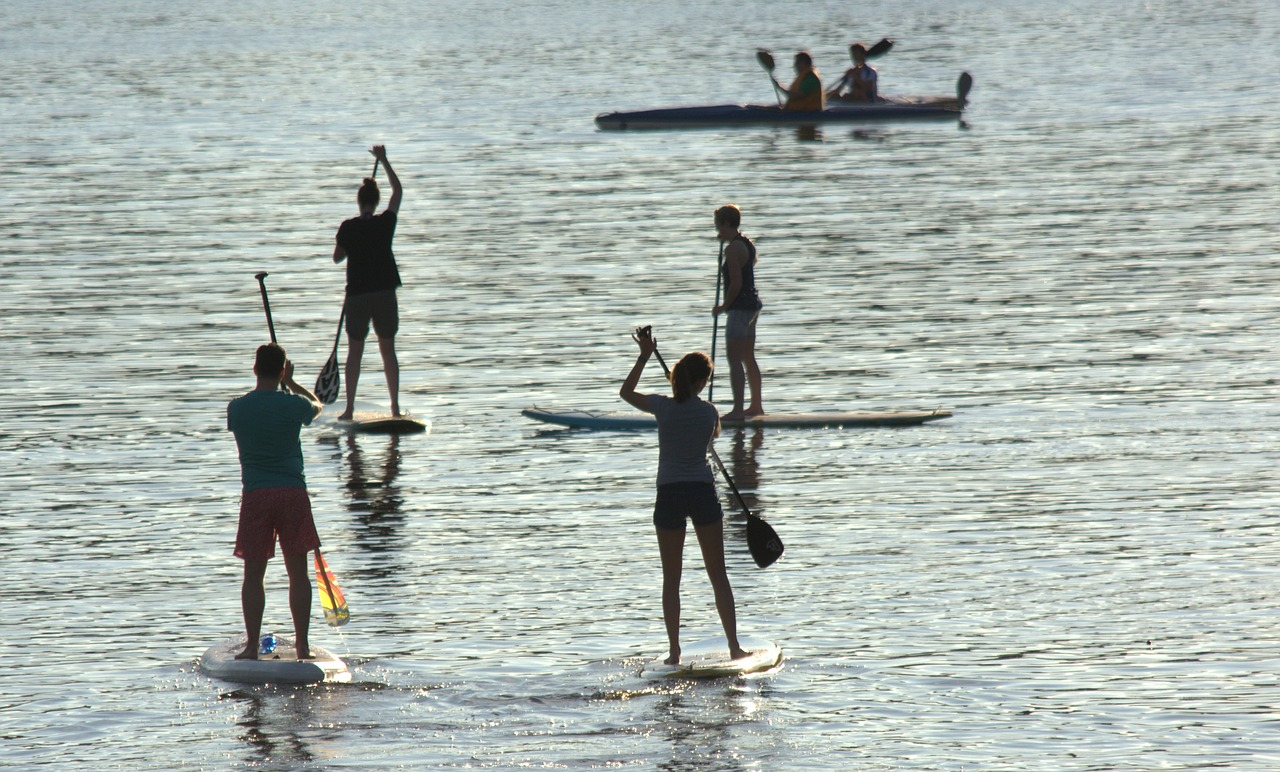 Group Paddle Tours