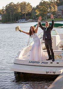 Lake Murray Weddings on a Boat.jpg