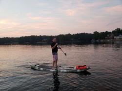 AquaFun Paddle F3 sunrise paddle  4