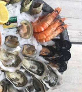 plateau de fruits de mer DECOUVERTE €40.00