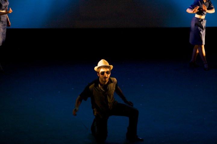 Tenor David de Winter performing in Cavalli's L'egisto at the Royal Academy of Music