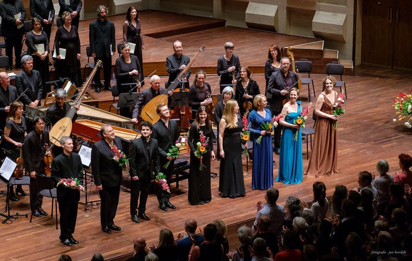 Tenor David de Winter performing Purcell's Dido & Aeneas at De Doelen Concert Hall in Rotterdam with the Nederlandse Bachvereniging conducted by Robert King