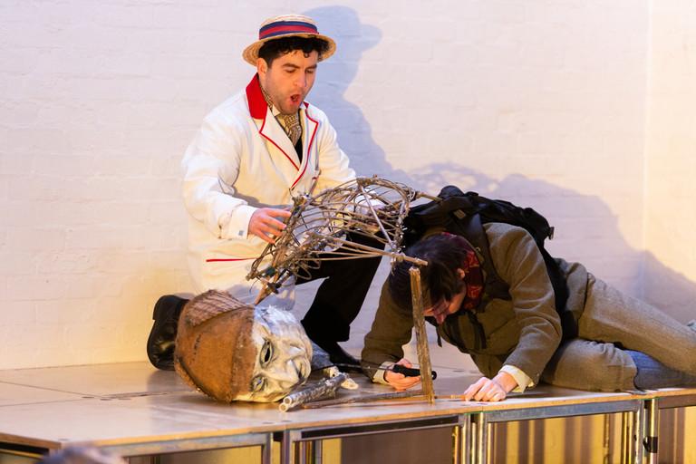 David de Winter as 'Mosquito' in Janacek's Cunning Little Vixen at the Barnes Music Festival 2020