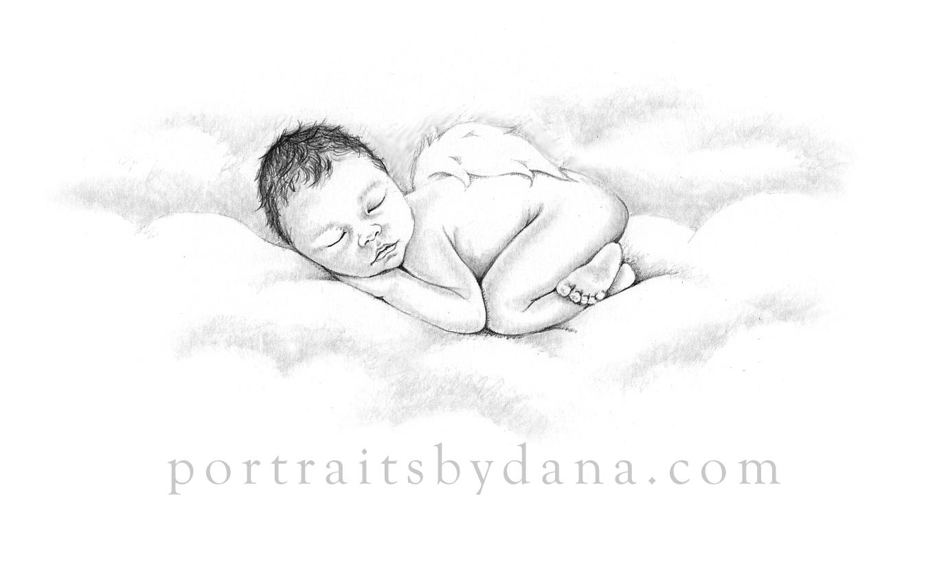 Portraits by dana pregnancy infant loss artist