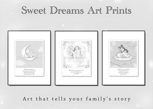 Sweet Dreams Art Prints