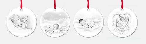 Angel Metal Ornaments (US residents ONLY)