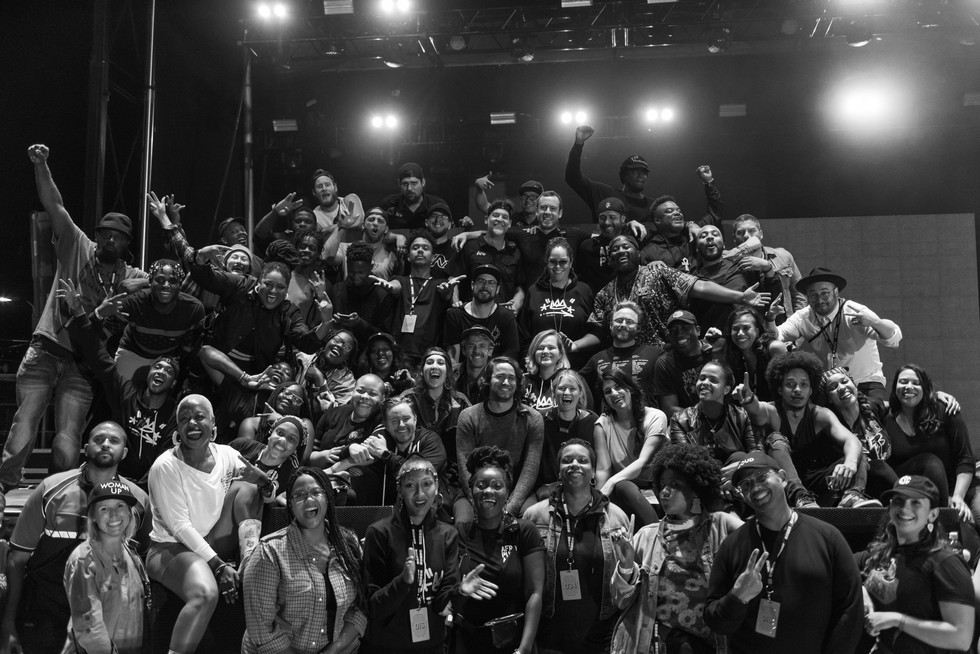 Afropunk ATL 2018 Crew • Photo by RayLoveJr