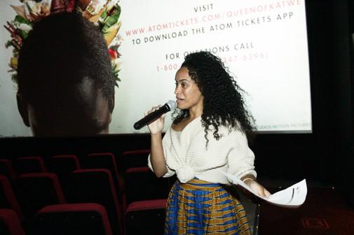 "NYC Screening Host ""HeyFranHey"""