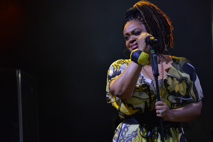 Jill Scott, Common and More Ignite Stage at Jazz in the Gardens