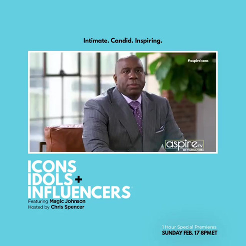 Icons, Idols + Influencers Social Media Motion Graphic