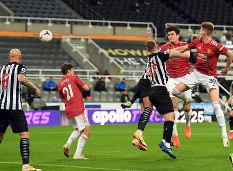 Newcastle United 1 Manchester United 4