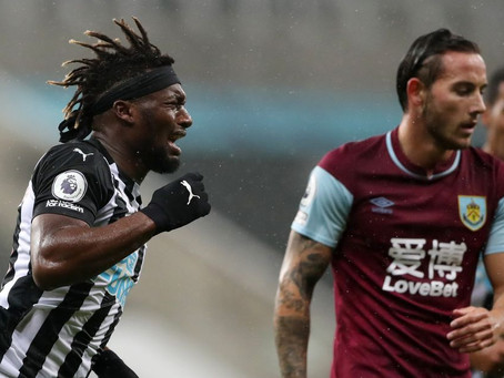 Newcastle United v Burnley - Welcome to the Saint-Maximin Show