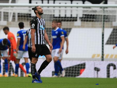 Newcastle United 0 Brighton 3