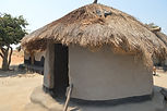 Circular kitchen in Nsulila village Malawi, malawi architecture