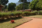 Hedges and grass are used to define a homestead Pasani village Malawi, malawi architecture