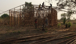 Ethiopia home being constructed with a bamboo frame (submitted by Abby Morris).j