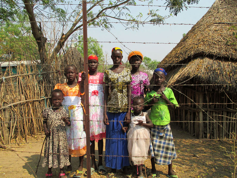 Ethiopia girls standing in front of their home (submitted by Abby Morris).jpg