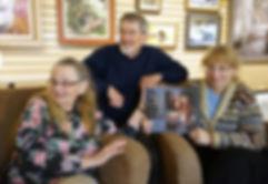 Monique, Raynald et Gisèle Benoit au lancement du livre Frisson Sacré du monde sauvage