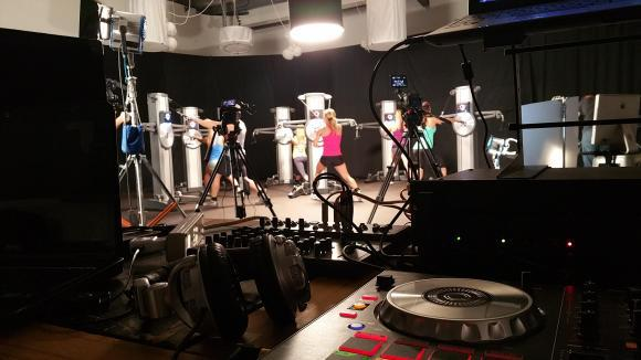 Fitness Video Shoot