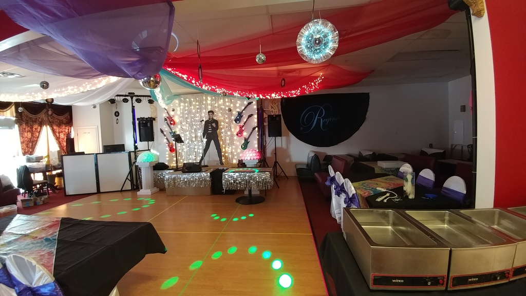 Birthday Party setup