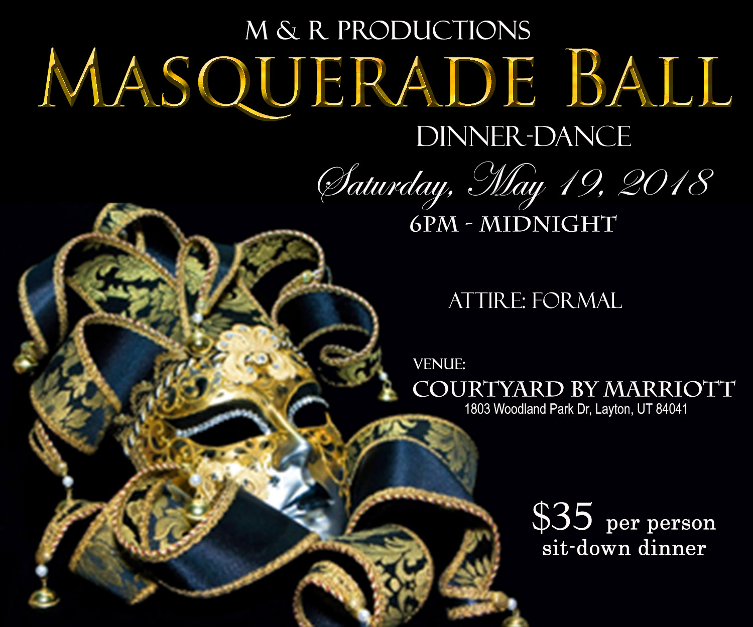 Davis County Masquerade Ball 2018